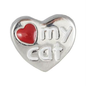 Picture of I Love My Cat Charm