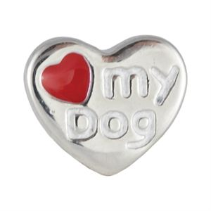 Picture of I Love My Dog Charm